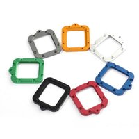 Wholesale Gopro Lanyard - For Gopro Accessories Aluminum Lens Frame Mount For GP44 Housing Lanyard Ring For Gopro hero 3 Waterproof Housing Case