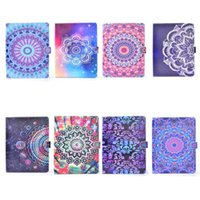 Wholesale Fashion Screen Printing - Mandala Print Folio Stand Leather Case Flip Smart Cover w  Wallet Cards Holder for iPad Air   Pro 9.7""