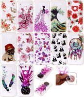 Soft TPU IMD Case para LG G6, K8 2017, K10 2017 Cases Fashion Cute Flower Panda Ananás Mandala Paisley Floral Butterfly Cartoon Cover Skin