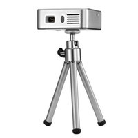 Wholesale Handy Tv - Wholesale-Handy Mini Projector E05 Bluetooth Wifi Home Theater Pico Portable Pocket LED USB DLP Android 4.4 Built 3000mA Power Bank TV Box