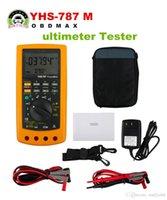 Wholesale Digital Tester Loop - YHS-787 Digital Process Calibration Multimeter Tester Digital Multimeter and Loop Calibration Tool
