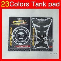 Wholesale Honda Cbr F - 3D Carbon Fiber Gas Tank Pad Protector For HONDA CBR600F 11 12 13 14 CBR600 F CBR 600F 2011 2012 2013 2014 14 3D Tank Cap Sticker 23Colors