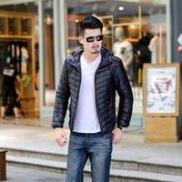 Wholesale wholesale long parka - free shiping New Trend winter men down coat jacket men down parkas outwear new brand down jacket