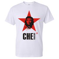 Wholesale Che Guevara Shirts - Wholesale- Newest 2016 men's fashion short sleeve Che Guevara printed t-shirt Harajuku funny tee shirts Hipster O-neck cool tops