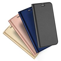Wholesale Wallet Book Leather Case Cover - For iphone 6 7 Plus Slim Leather Flip Case Luxury Soft TPU Ultra Thin Wallet Book Magnetic Cover For iphone7 5 SE 6S