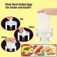 Wholesale Magic Shell - NewEggs Tractor Magic Amazing Instantly Egg Shell Remove Peeler Kitchen Accessories Tools Cleaning Cooked Egg Shell Machine
