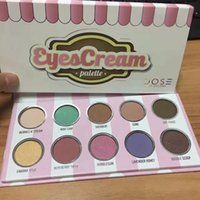 Wholesale Ice Cream Eye - Makeup Dose Of Colors Eyescream Eyeshadow Palette 10 Colors ice cream Eye Shadow eyeshadow cream Palette make up christmas cosmetics girls