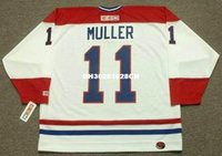 Costume retro personalizado KIRK MULLER Montreal Canadiens 1993 CCM Jerseys Remates Home Jerseys Throwback Mens stitched Hockey Jersey