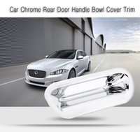 Wholesale Tailgate Handles - Universal Auto Car Chrome Tailgate Rear Door Handle Bowl Cover Trim Trunk Tail Door Exterior Car Styling Accessories 194925401