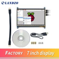 Wholesale 7 inch Capacitive Touch Screen LCD HDMI interface supports various systems for Raspberry pi2 and pi