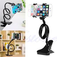 langarm-auto telefonhalter großhandel-Großhandels-fauler Bett-Desktop-Auto-Stand-Berg-Halter für Handy-langen Arm