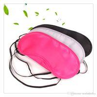 Wholesale Motorcycle Rest - Hot Sleep Mask Nap Light Cover Eye Mask Motorcycle Goggles Airsoft Glasses Shade Travel Rest Blindfold Sleeping Masks Free Shipping