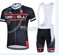 cas cycling - Newest Cycling Suit Cas Short Sleeve Summer Cycling Jerseys Set Ropa Ciclismo Breathable Bikes Racing Clothes Wears Padded Pants Cheap