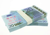 Wholesale Factory Labels - EUR20 for props and Education bank staff training paper fake money copy money children gift factory direct