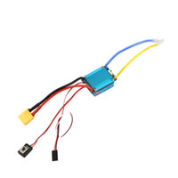 Wholesale esc for car - Waterproof Brushed ESC 160A 3S with 5V 1A BEC T-Plug For 1 12 RC Car Wholesale free shipping