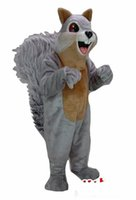 Wholesale Squirrel Mascot Costumes - Customized Big tail squirrel Mascot Costume Adult Size factory direct,free shipping.