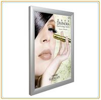 uk custom poster frames ultra thin aluminum poster frame poster light box a1