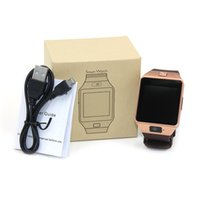 Wholesale Sleep Cell - DZ09 Bluetooth Smart Watch Intelligent with SIM card for Iphone Samsung Android Cell phone with retail package