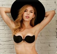 Wholesale Deep V Silicone Bra - Oversized cup silicone bra mango breast pasted deep V dress bra Adhesives&Shapers bridal undersarments,8 style 2017