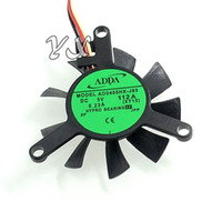 Wholesale adda 5v fans for sale - Group buy high quality New Original ADDA AD0405HX J93 V A wires Graphics cooling fan