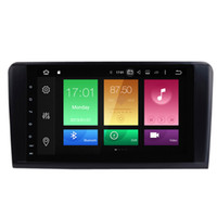 """Wholesale G Dvd Player - 9"""" Octa-Core Android 6.0.1 System Auto GPS Receiver For ML-X164 (G320 GL350 G;420 GL450 GL500) Car DVD Radio RDS 2G RAM 32G ROM BT WIFI 4G"""