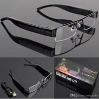 Wholesale Dvr Camera Glasses V13 - V13 HD 1080P Spy Glasses Camera Hidden Eyewear Cam DVR Video Recorder Mini DV Sunglasses camera Camcorder