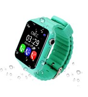 Wholesale Waterproof Gps Watch Phone - Smart Watch V7K with GPS camera tracker for kid safe SOS Call Location Devicer phone watch can record sport state it is good for health