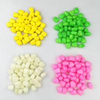 kits de carpa venda por atacado-Colorido Milho Isca Versão Atualizada Falso Macio Bionic Iscas Flutuante Completa Isca de Carpa Sabor Fresco Simulação de Milho Kits de Milhos 0 08hy F