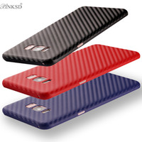 Wholesale Galaxy Goophone - For iphone i7 i6 PLUS goophone S8 Case Carbon Fiber Soft TPU Back Cover Phone Cases for Samsung Galaxy S8 S8 plus