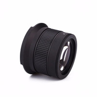 Wholesale Wide Lens 58mm - Wholesale- 58MM 0.35X Fisheye Wide-angle Lens Panoramic Lens Bag Camcorder Accessories Lens for Nikon