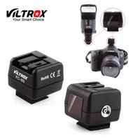 Viltrox FC-6S HotShoe Wireless Flash Light Controller Оптический ведомый триггерный адаптер для Sony Minolta Flash для Canon Nikon Camera
