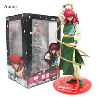 Wholesale Hakusho Figures - Anime Cartoon YuYu Hakusho KURAMA PVC Figure Collectible Toy 20cm KT412