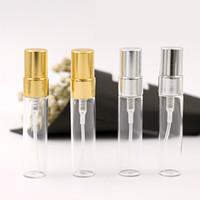 deodorant boş şişe toptan satış-5 ml Doldurulabilir Boş Cam Parfüm Şişeleri Deodorant Flakon Parfüm Şişesi Kadın Boş Şişe Mini Tüp Atomizer