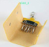 Wholesale Cheap Bags For Men - Wholesale Men women Fashion gifts Mini Key Wallet Purse Cheap Candy Colors Casual Key Wallet Pocket Keys bag car keychain 8Colors for choose