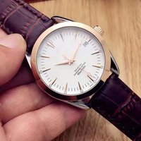 Wholesale Leather Strap Sale - Hot sale Casual men watches luxury Brand Leather Strap with calendar mechanical automatic wrist watch For mens best gift Relogio Masculino