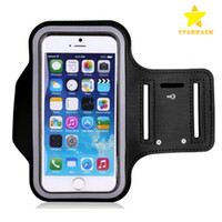 Wholesale Sports Armband Galaxy - Armband For iPhone 7 6S Plus, LG G6G5, Galaxy s8 s7 s6 Edge, Note 5 ArmTrek Pro Sport Exercise Running Pouch Key Holder