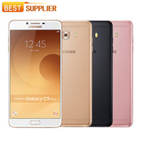Wholesale samsung cell phones batteries for sale – best Original Samsung Galaxy C9 Pro C9000 GB RAM GB ROM LTE Octa core MP Camera inch mAh Battery Cell Phone