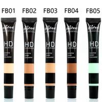 Wholesale Naked Skin Bb Cream - Popfeel Brand Liquid Concealer Professional Makeup BB CC Cream Eye Face Primer Naked Skin Bronzer Foundation Base Maquiagem