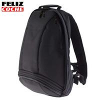 Wholesale Quality Carrier Bags - Good Quality Black Motocross Backpack Moto Bag Waterproof Backpack Reflective Helmet Bag Motorcycle Racing Backpacks