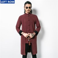 Wholesale Guys Coats - Wholesale- 2017 explosion class fine men tough guy essential retro coat, fashion trend popular, shopkeeper recommended S-5XL