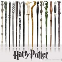 Wholesale Fancy Metal - Creative Cosplay 18 Styles Hogwarts Harry Potter Series Magic Wands New Upgrade Resin with Metal Core Harry Potter Magical Wand