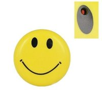 Wholesale Tv Audio Out - Smile Face Brooch Mini camcorder with Clip mini DV Hidden Spy camera Mini audio video recorder DVR with TV out yellow