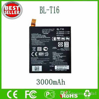 Wholesale Cheap Original BL T16 Battery For LG G Flex H950 H955 H959 LS996 US995 mAh V battery