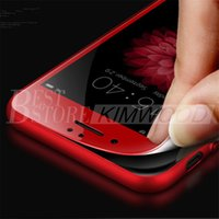 special film - Special Red Carbon Fiber Soft Edge Tempered Glass For iPhone plus MM D Curved Screen Protector Film With Retail Package