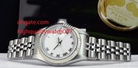 Wholesale Jubilee Wrist Watches - HOT High Quality New arrive Luxury watches Wrist watch Ladies 18kt WG SS 26mm Silver JUBILEE Diamond 79174 Ladies Watch