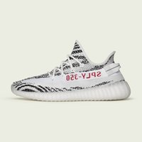 Wholesale Cream Colour Boots - hot sale 2017 Boost 350 V2 Bred Zebra New SPLY-350 mens shoes sneakers women 350 boost Running Shoes Kanye West 10 colour sport shoes