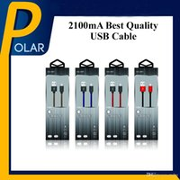 Wholesale Palms Stock - Factory Sale 2100mA USB Cable 1M Lightning Micro Zinc Alloy Cloth screen USB Charging Data Cable With Retail Package Full Stocked