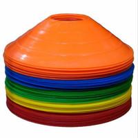 Wholesale Disc Balls - Soccer Training Cones Marker Discs Sports Cones Entertainment Football 5PCS Lot Mixed Color Free Shipping S001
