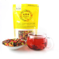 Wholesale Healthy Tea Drinks - 100g Natural Chinese Fruit Tea Green Food Delay Senility Flavored Tea Improve Immunity Blend Tea Traditional Healthy Herbal Drink