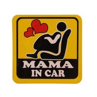 Wholesale mother doors - Mama In Car Stickers Window Bumper Locker Sticker for Mother Mum Mama Monmy